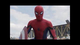 Spiderman Primera Aparición /Pelea Del Aeropuerto (Part-1) (IMAX HD) LATINO Civil War