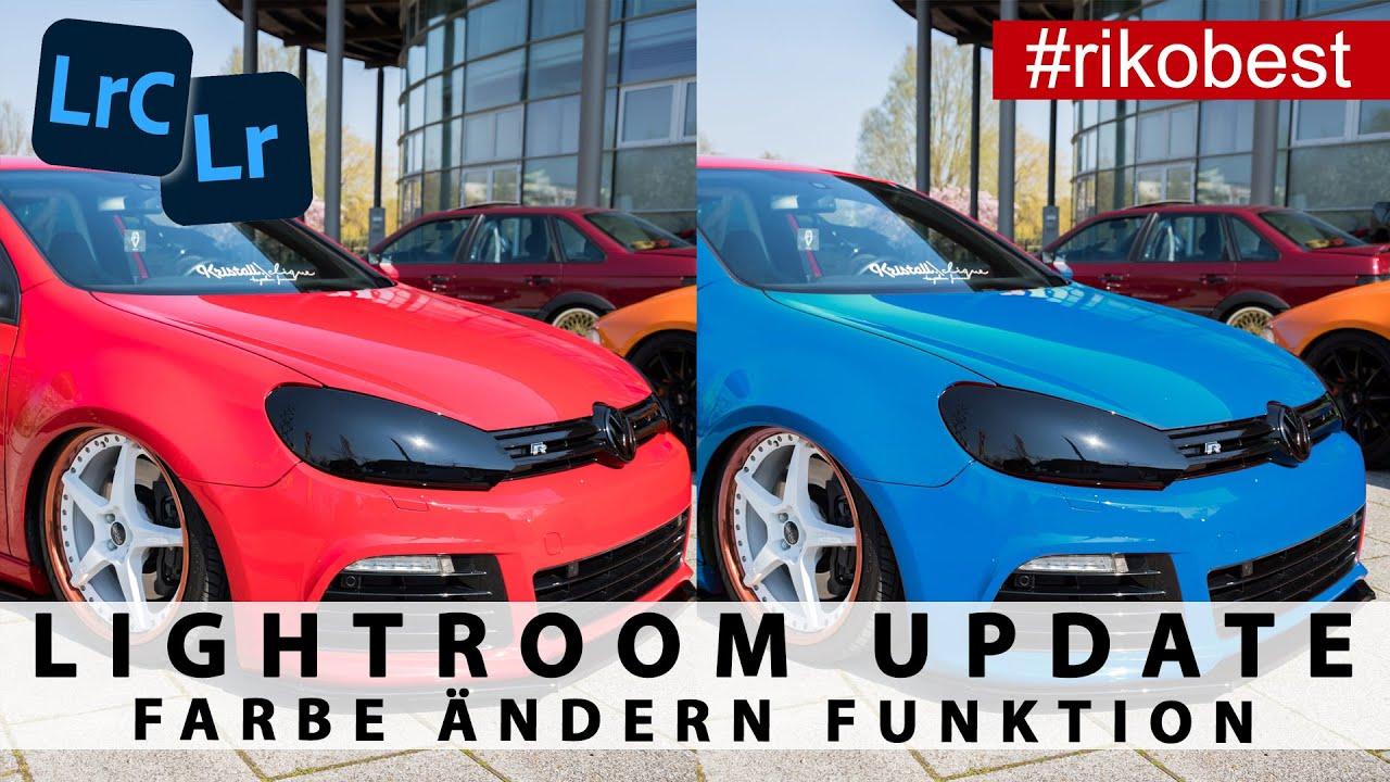 Update für Adobe Lightroom Classic das V9.3 Update! FARBE jetzt ganz einfach ÄNDERN in Lightroom!