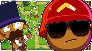 THE $1,000,000,000 CHALLENGE *THIS IS REALLY HARD* - BLOONS TD BATTLES 10X MOD - BLOONS MODDED