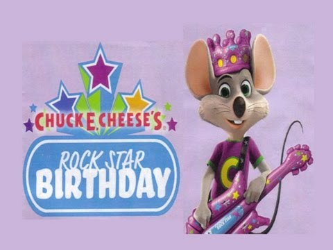 Chuck E. Live - CEC Rock Star Birthday
