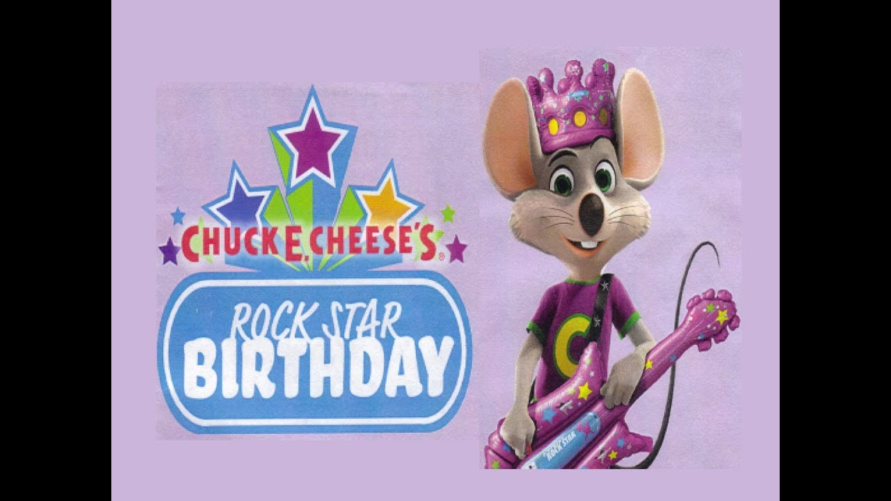 Chuck E. Live - CEC Rock Star Birthday - YouTube