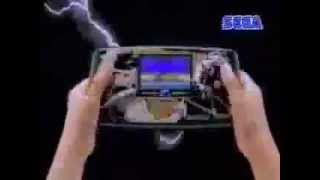 Japanese Sega Game Gear Commercial - Retro Video Game Commercial / Ad