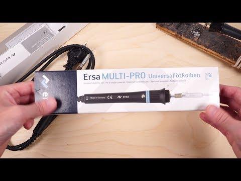 Паяльник ERSA Multi Pro 930cd, Обзор