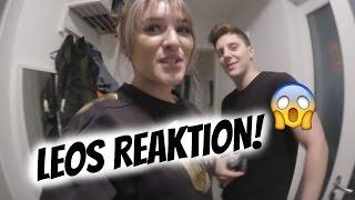 LEOS REAKTION ZU KATS NEUER FRISUR! | AnKat