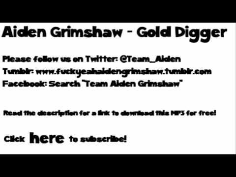 Aiden Grimshaw - Gold Digger (Free MP3 link)