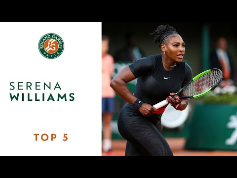 Serena Williams - TOP 5 | Roland Garros 2018