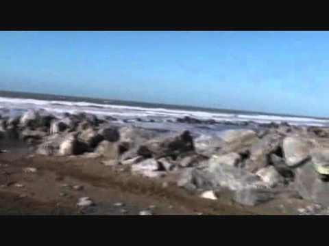 Borth Sea Defenses Video 3 Feb 2011
