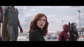 Civil War - All Spider-Man Scenes (Including Homecoming Vlogs)