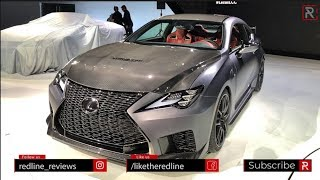 2020 Lexus RC F Track Edition – Redline: First Look – 2019 NAIAS