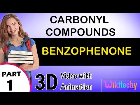 benzophenone carbonyl compounds class 12 chemistry subject notes lectures cbse iitjee neet
