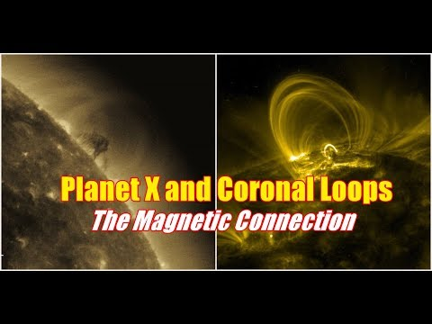 Planet X and Coronal Loops - The Magnetic Connection