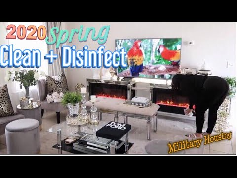 2020 SPRING DECOR CLEANING || ALL DAY CLEANING MOTIVATION
