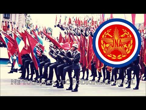 Yugoslav Parade Song - Pešadijo, Pešadijo