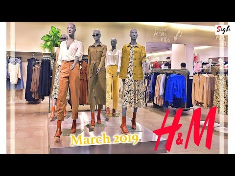 H&M Spring Collection MARCH 2019