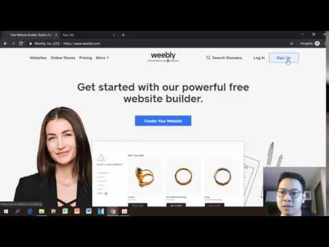 วิธีสมัคร ใช้งาน เว็บไซต์ฟรีด้วย Weebly เพื่อทำ Sale Page