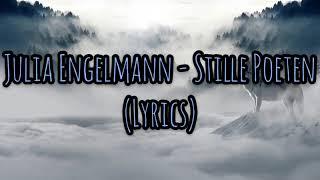 Julia Engelmann - Stille Poeten (Lyrics)