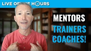 How to Find the Right Mentors and Coaches: Live Office Hours with Andrew LaCivita thumbnail