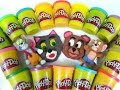 Play Doh How To Make Tom & Jerry Playdough