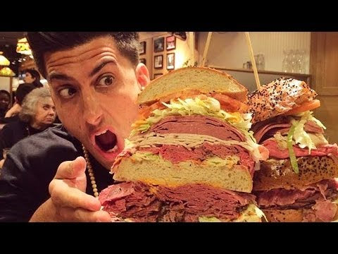 WORLDS LARGEST SANDWICH!