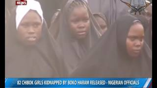 82 Chibok girls kidnapped by Boko Haram released- Nigerian officials