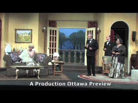 A look at THE HOLLOW, produced by the Ottawa Little Theatre