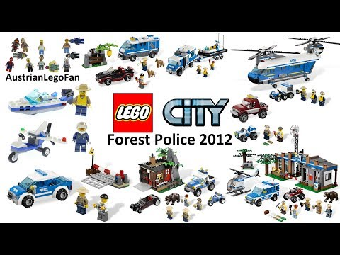 All Lego City Forest Police Sets 2012 - Lego Speed Build Review