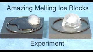 Amazing Melting Ice Blocks Experiment (Fastest ice cube melting / ice experiments)