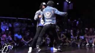 Батл, хип хоп танцы!(Братья Боржуа, танцевальный дуэт Les Twins исполняют хип хоп танцы. Хип-хоп танец – современное и очень популяр..., 2015-04-17T07:33:38.000Z)