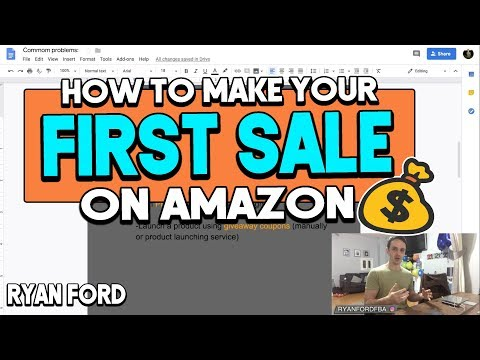 How To Make Your First Sale On Amazon FBA