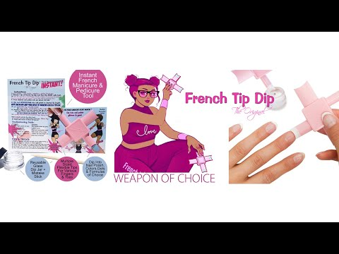 French Manicure Tutorial For Tip Dip You