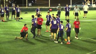 PFL HORNED FROGS VS RED SHARKS SEMANA 15 2014  2015