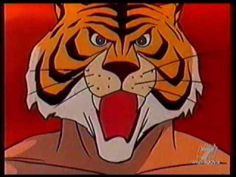 Uomo tigre sigla iniziale youtube for Disegni da colorare uomo tigre