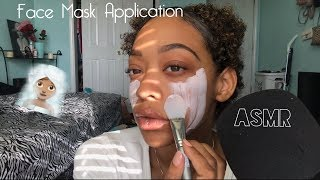 ASMR | Face Mask Application 🧖🏽‍♀️