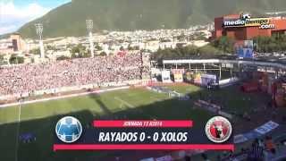 Los goles del: Monterrey vs Xolos (1 - 1)