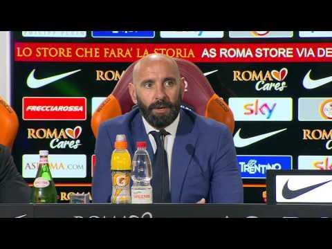 """Trigoria, Monchi si presenta: """"Roma, qui per vincere. Totti? Lo voglio accanto a me"""""""