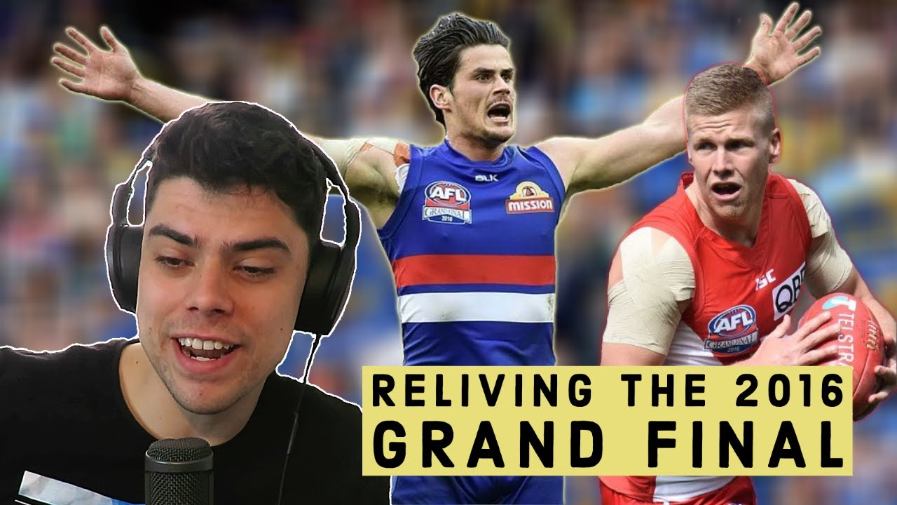 Reliving the 2016 AFL GRAND FINAL