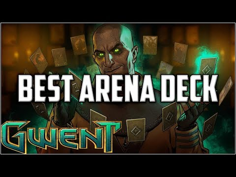 Gwent Best 9 Win Arena Deck I Ever Drafted ~ Gwent Arena Mode Stream Gameplay Part 1