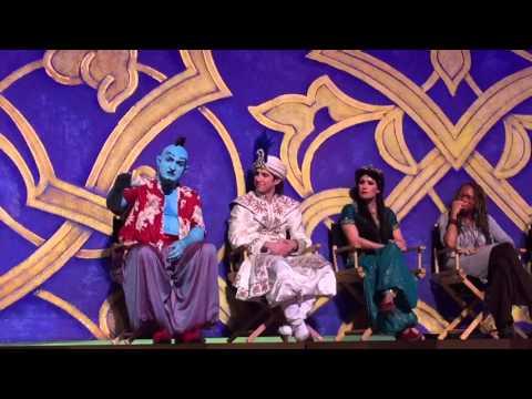 Aladdin A Musical Spectacular Panel Q&A