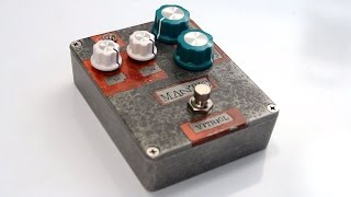 PedalsAndEffects: Mantic Effects Vitriol Distortion