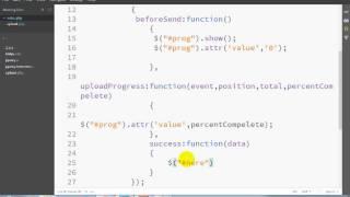 Very Simple Ajax File Upload With Progress Bar