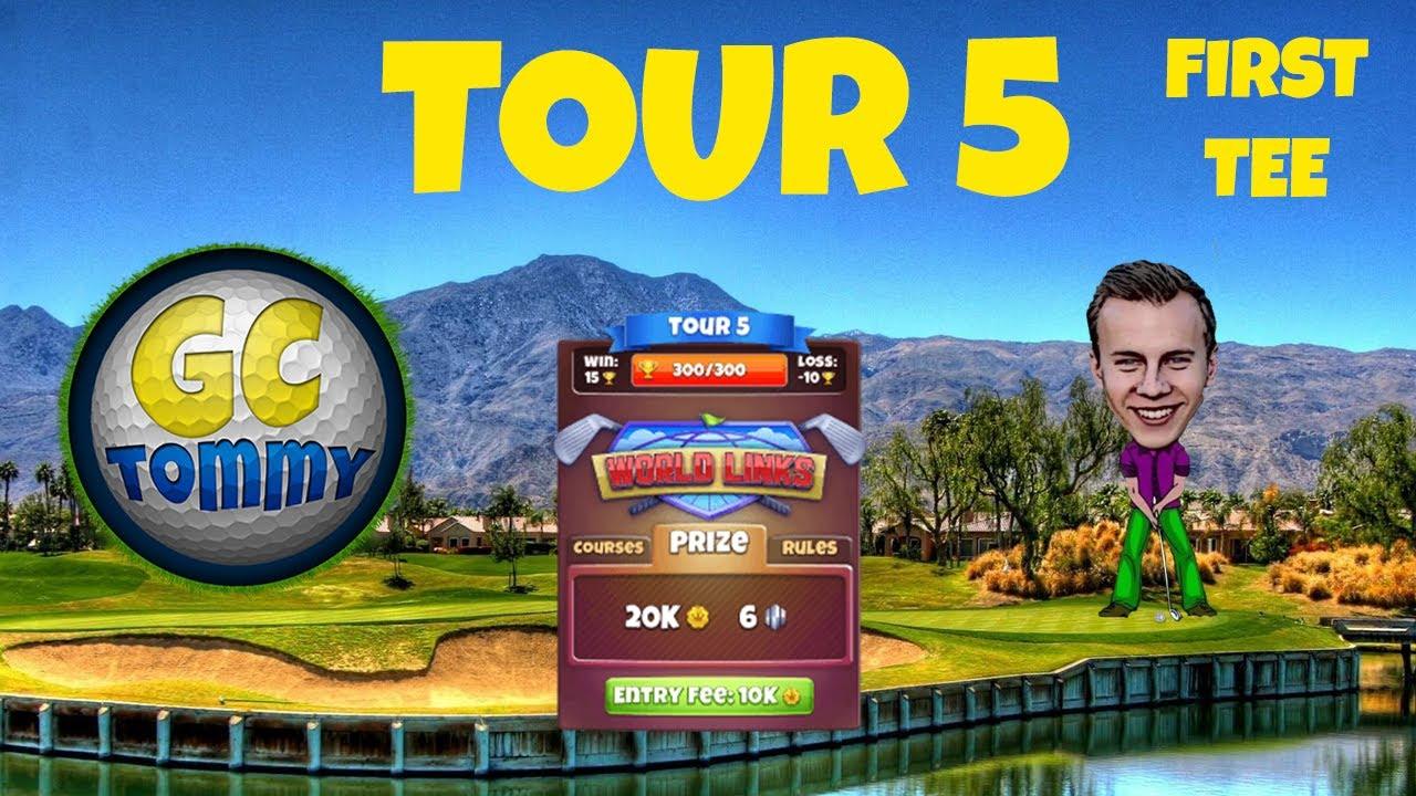 Golf Clash tips, Hole 3 - Par 5, Gokasho Bay - Fuji Open Tournament - ROOKIE Guide