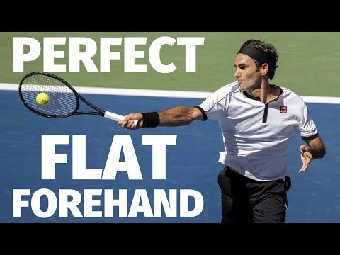 How To Hit The Perfect Flat Tennis Forehand In 3 Simple Steps