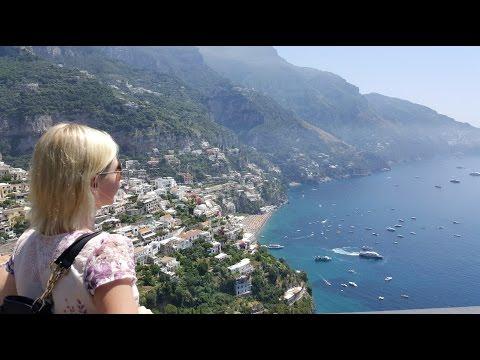 Смотреть Амальфитанское побережье Италии: едем в Позитано - часть #13 #Авиамания онлайн