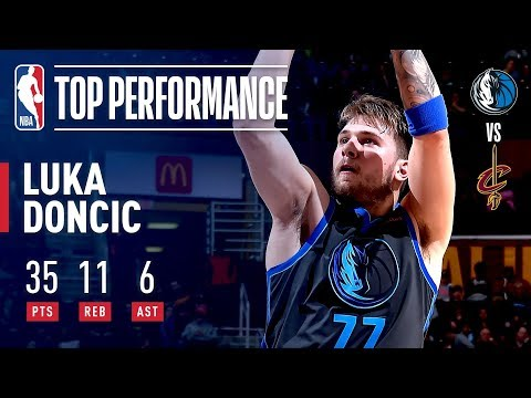Luka Doncic SHINES In Cleveland | February 2, 2019 thumbnail