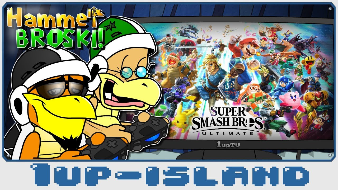 Hammer Broski: Ep 3 - Super Smash Bros. Ultimate!