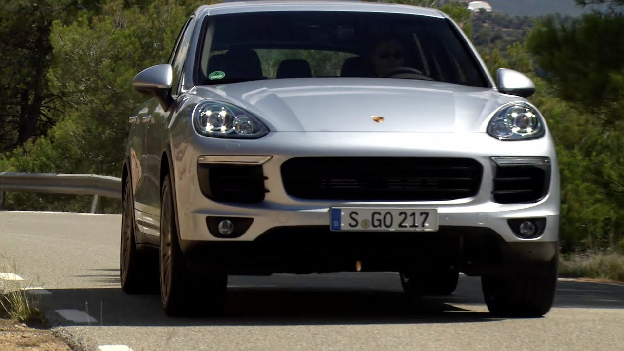 porsche cayenne s (2015) driving - youtube