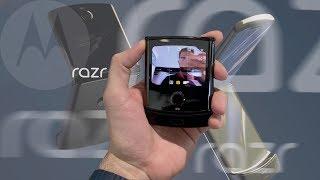 Motorola RAZR (2019) с гибким экраном: первое видео