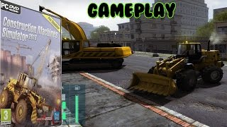 Construction Machines Simulator 2016 - Begin Gameplay PC HD