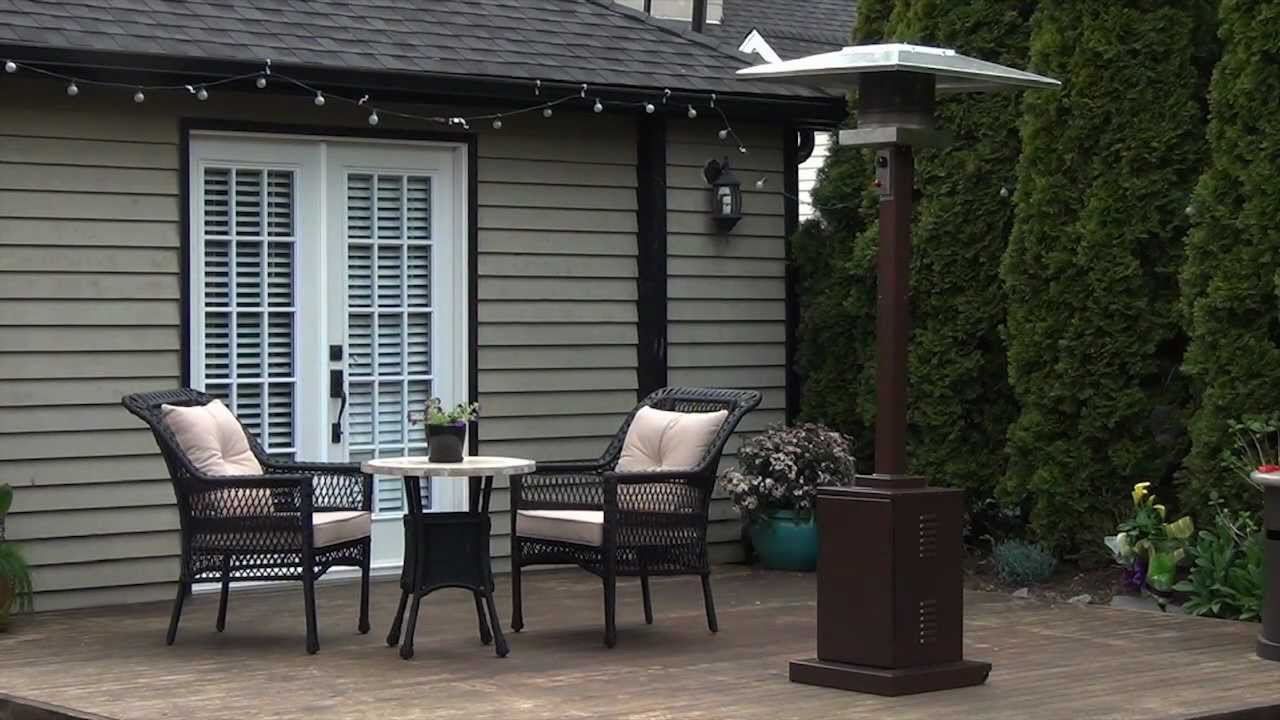 Paramount Square Bronze Patio Heater