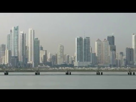 Panama city - the most modern looking city in Central America